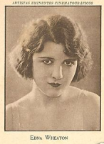 Headshot of Ziegfeld Follies chorus member Edna Wheaton.