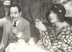 Eugene Nelson and Helen Lee Worthing, 1929.