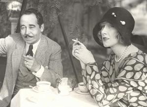 Eugene Nelson and Helen Lee Worthing, 1929.
