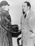 Helen Lee Worthing and Eugene Nelson in 1933, shortly after their annulment