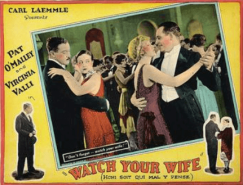 Poster for 1926 movie Watch Your Wife.