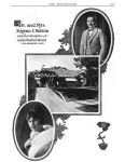 Photo montage of Eugene Nelson, his wife Angelita, and their house from The Messenger, 1924.