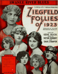 Ziegfeld Follies program, 1923