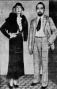 Helen Lee Worthing and Eugene Nelson
