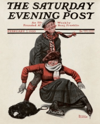 Norman Rockwell cover, Saturday Evening Post, February 7, 1920