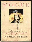 Harriet Meserole Vogue cover, March 15, 1920