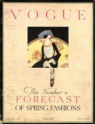 Harriet Meserole Vogue cover, March 15, 1920