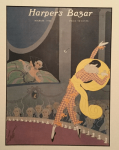 Erte Harper's Bazar cover, March 1920, Erte.