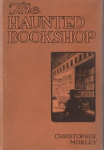 Cover of The Haunted Bookshop by Christopher Morley, 1919.
