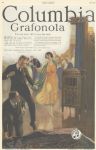 Colombia gramophone ad, Ladies' Home Journal, 1920, man and woman dancing.