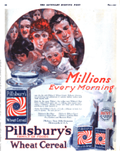 Pillsbury ad, Saturday Evening Post, May 1, 1920.