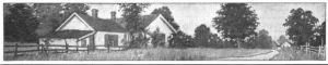 Photograph of house in country, Saturday Evening Post, May 1, 1920.
