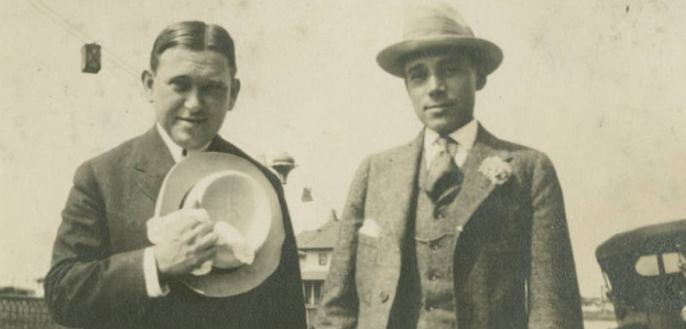 H.L. Mencken and George Jean Nathan