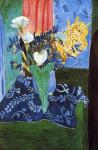 Calla Lilies, Irises and Mimosas, Henri Matisse, 1913.