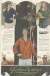 Goody Middies blouse ad, girls in athletic outfits, Ladies' Home Journal, 1920.