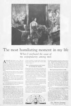 "Odorono deodorant ad, ""The Most Humiliating Moment of My Life,"" Ladies' Home Journal, 1920"