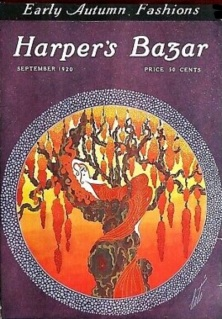 Erté Harper's Bazar cover, September 1920