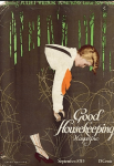 Good Housekeeping cover, September 1920, Coles Phillips fadeaway girl.