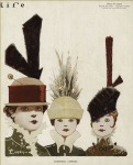 Life cover, September 8, 1915, Emery, women with long-feathered hats.