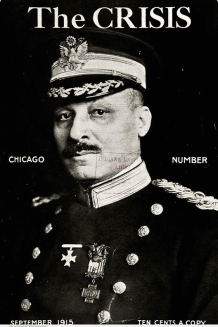 The Crisis, September 1915, The Colonel of the 8th Regiment.