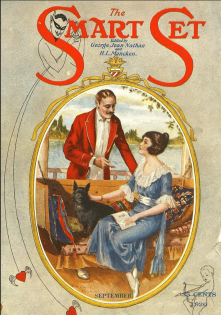 Smart Set cover, September 1920, Archie Gunn, man and woman on boat.