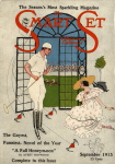 Smart Set cover, September 1915, John Held Jr., man in polo clothes with woman.