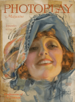 Photoplay cover, September 1920, Rolf Armstrong, Constance Talmadge.