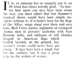 Excerpt from Dorothy Parker theater review, Vanity Fair, August 1919