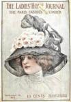 Ladies' Home Journal, September 15, 1910, woman in big hat.