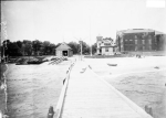 Evanston lifesaving station, 1910.