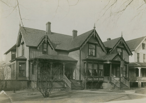 Frances Willard House, Evanston, Illinois.