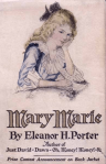 Cover of Mary Marie by Eleanor Porter, 1920; girl with chin in hand.