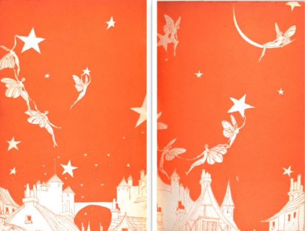 Lining pages, Fairies and Chimneys.