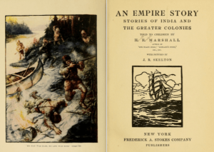 An Empire Story title page and frontispiece.