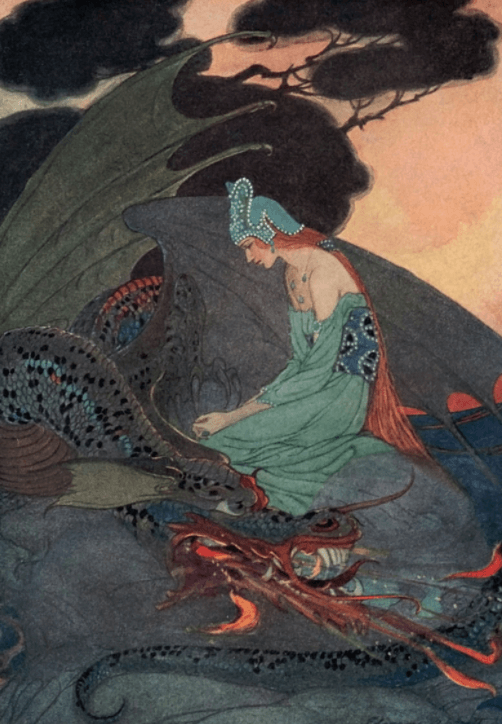 Illustration by Elenore Abbot from Grimm's Fairy Tales
