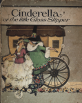 Cover of Cinderella, illustrated by Margaret Evans Price, Cinderella with coach.