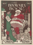 The Brownies' Book, December 1920, black Santa on roof.