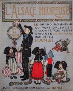 L'Alsace Heureuse cover, Hansi, 1919.