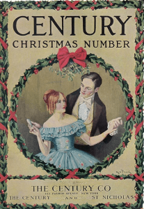 Century cover, December 1920, old-time couple dancing.