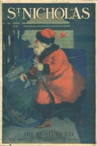 St, NIcholas cover, December 1920, Santa.