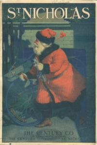 St, NIcholas cover, December 1920, Santa.