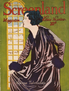 Screenland December 1920 cover, Norma Talmadge.