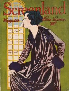 Screenland December 1920 cover, Norma Talmadge.