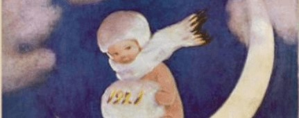 Crop of Good Housekeeping cover, January 1921.