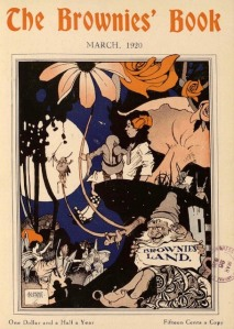 Brownies' Book cover, March 1920.