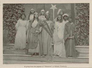 Pageant, Atlanta University, The Brownies' Book, 1920