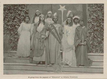 Pageant, Atlanta University, The Brownies' Book, 1920