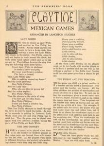 Langston Hughes article, The Brownies' Book, December 1920.