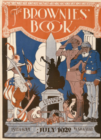 Brownies' Book cover, July 1920