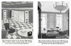 Illustrations of Lucien Lelong studio, Paris, possibly from Vanity Fair, 1920s?